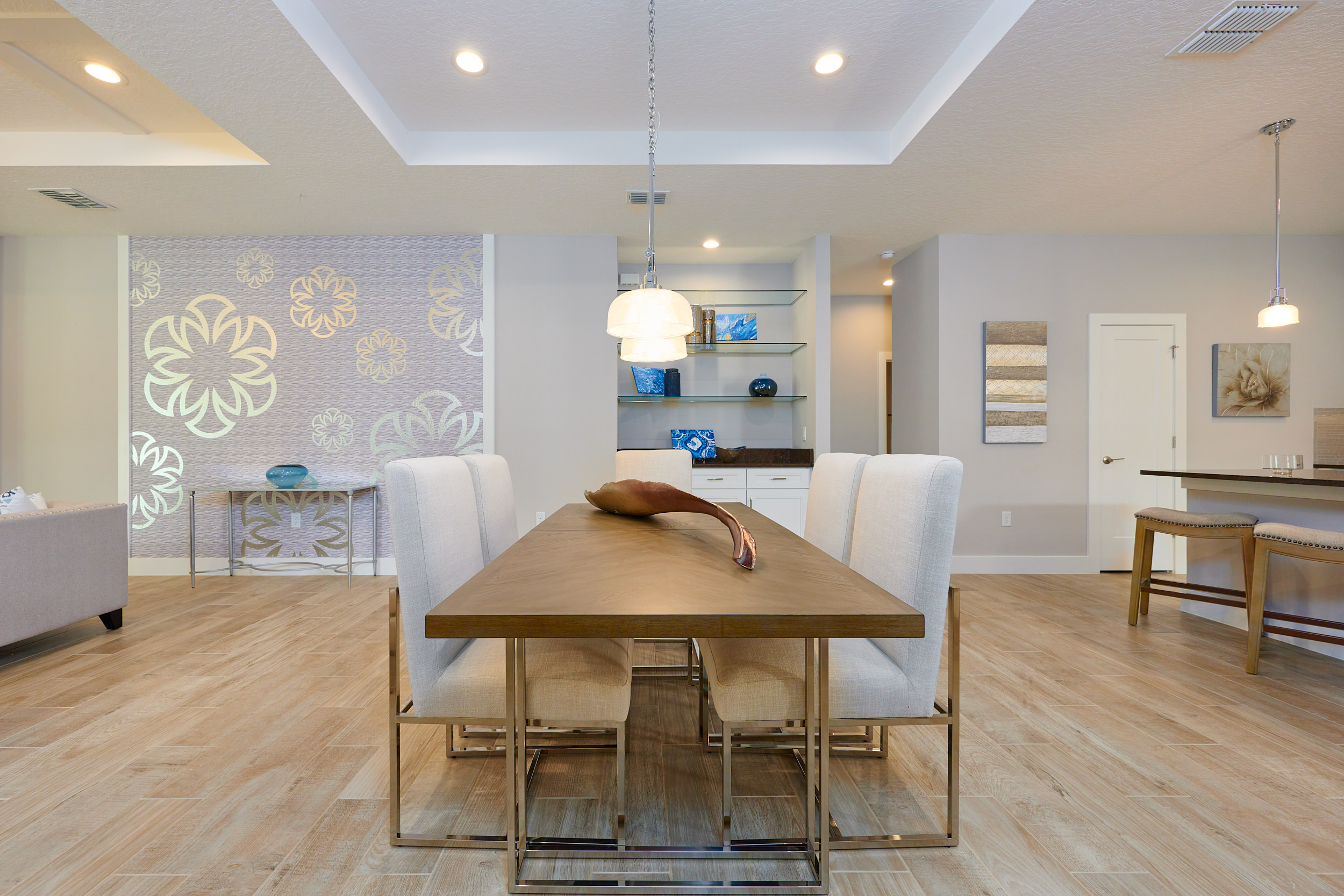Modern Dining Area   Innovative Home Design in Orlando, FL