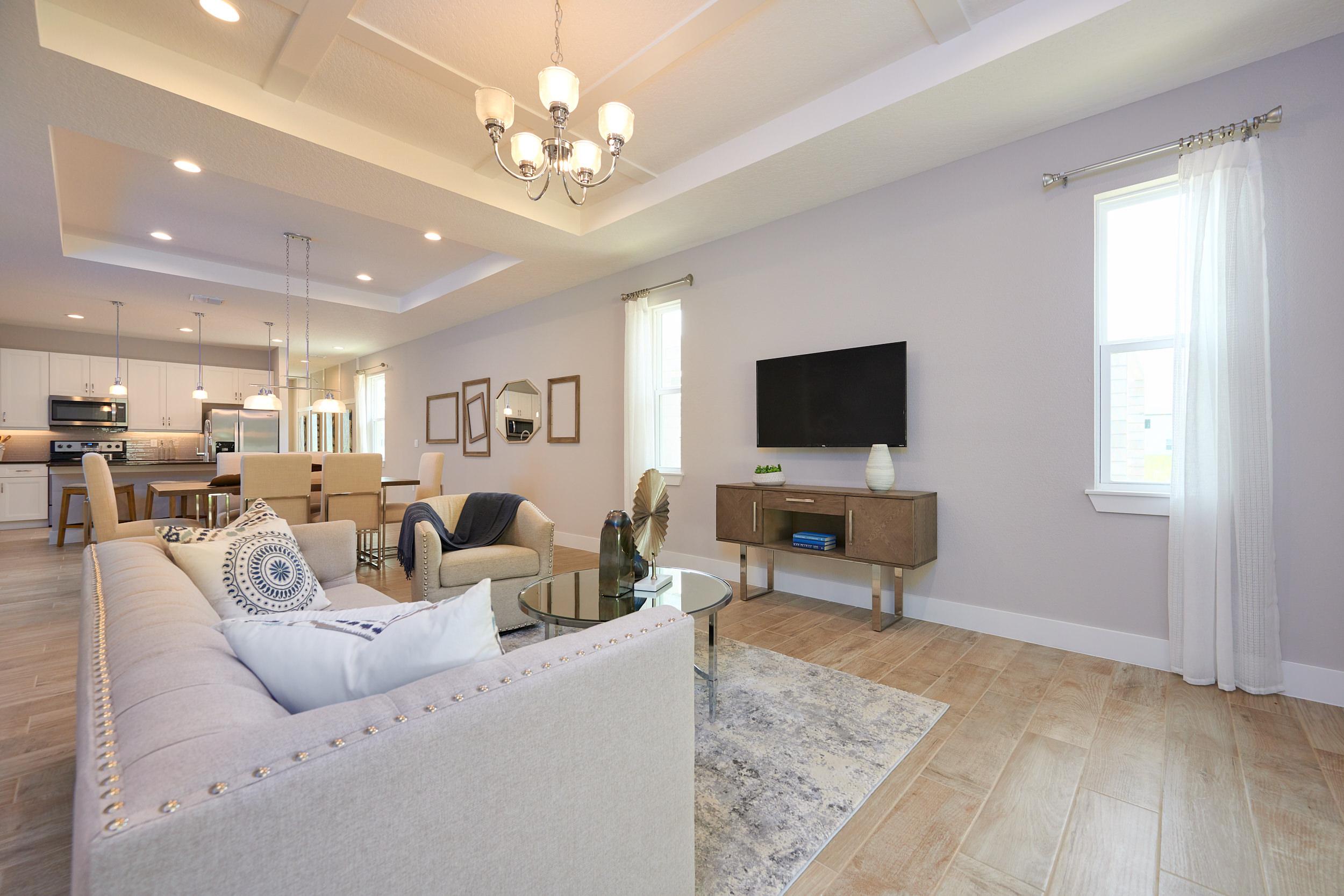Modern Living Room | Modern Home Designs in Orlando, FL